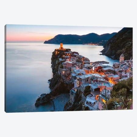 Corniglia, Cinque Terre, Italy Canvas Print #TEO363} by Matteo Colombo Art Print
