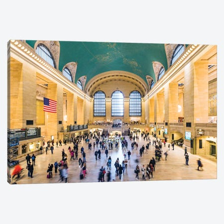 Grand Central Station, New York City Canvas Print #TEO374} by Matteo Colombo Canvas Art Print