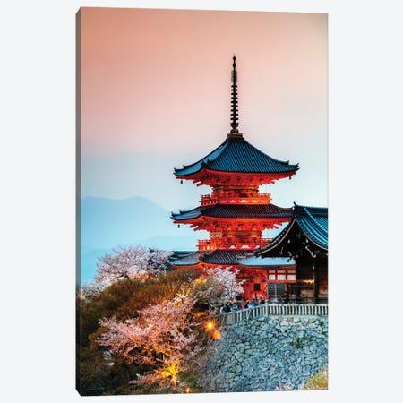 Kiyomizu-Dera Buddhist Temple, Kyoto, Japan Canvas Print #TEO380} by Matteo Colombo Art Print