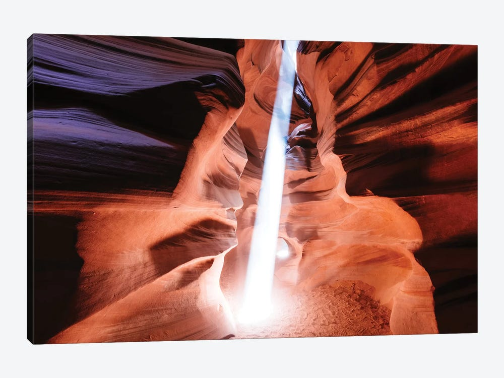 Light Beam At Upper Antelope Canyon by Matteo Colombo 1-piece Canvas Wall Art