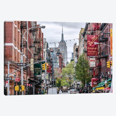 Little Italy, New York Canvas Print #TEO386} by Matteo Colombo Canvas Art