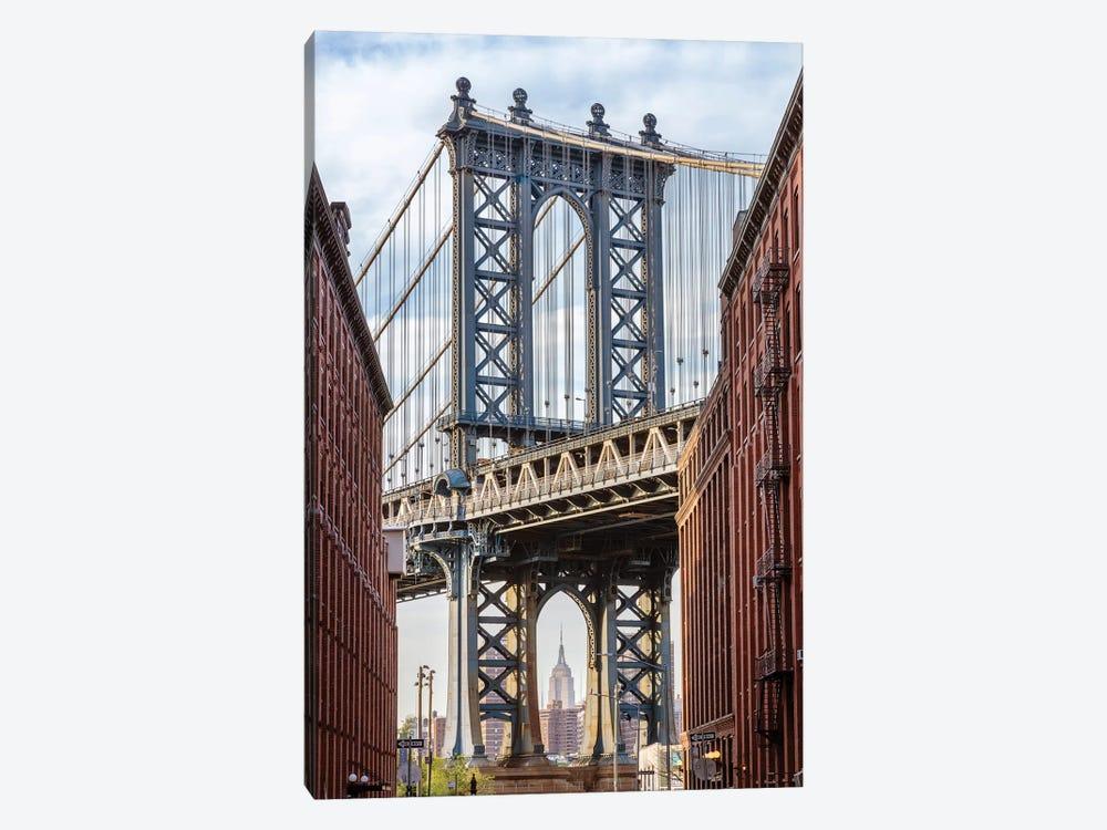Manhattan Bridge by Matteo Colombo 1-piece Canvas Art Print