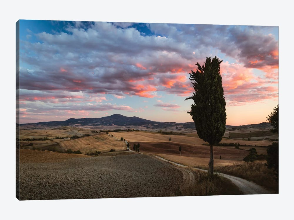 Epic Sunset, Tuscany, Italy by Matteo Colombo 1-piece Canvas Print