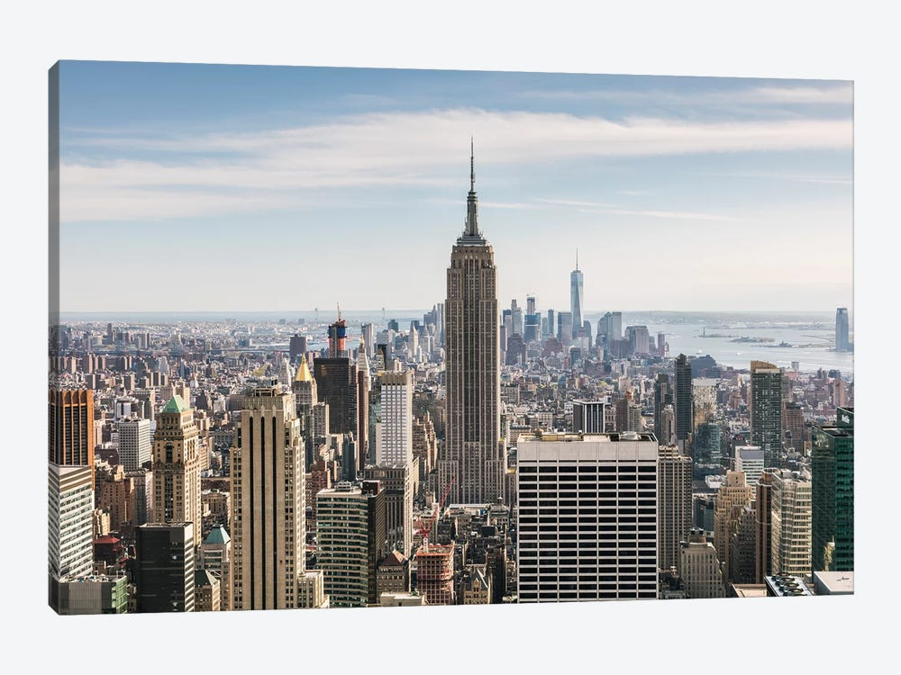 Manhattan Skyline, New York City by Matteo Colombo 1-piece Canvas Artwork