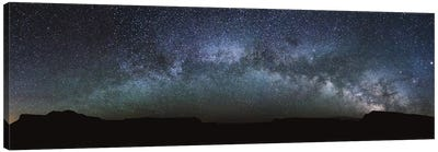 Milky Way Panoramic Canvas Art Print
