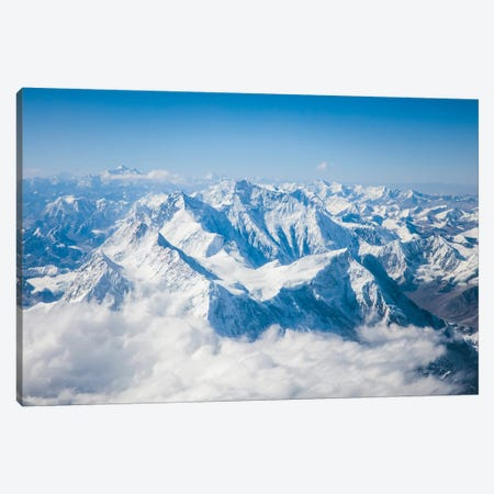 Mount Everest Canvas Print #TEO398} by Matteo Colombo Canvas Wall Art