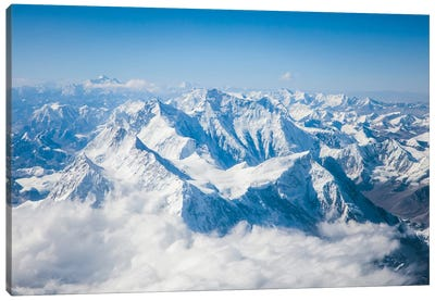 Mount Everest Canvas Art Print