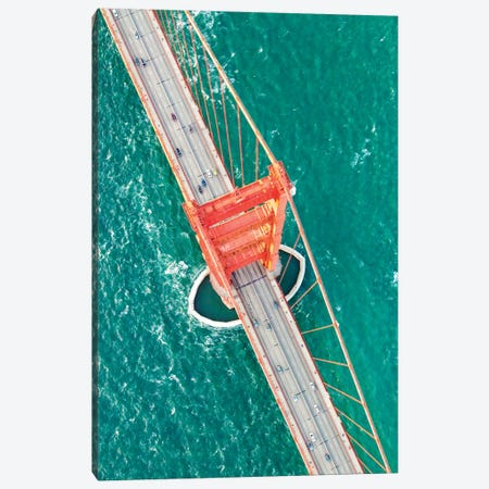Over The Golden Gate II Canvas Print #TEO404} by Matteo Colombo Canvas Print