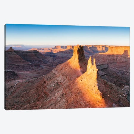 First Light, Canyonlands National Park, Utah, USA Canvas Print #TEO40} by Matteo Colombo Canvas Artwork