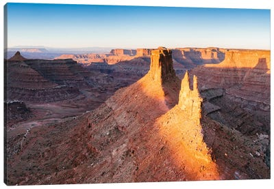 First Light, Canyonlands National Park, Utah, USA Canvas Print #TEO40
