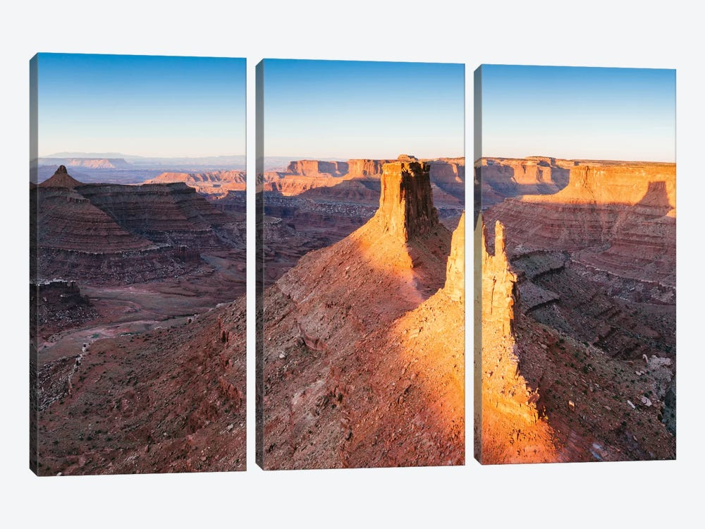 First Light, Canyonlands National Park, Utah, USA by Matteo Colombo 3-piece Canvas Wall Art