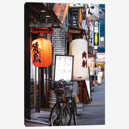 Red Light District, Shinjuku, Tokyo I Canvas Print #TEO413} by Matteo Colombo Canvas Art Print