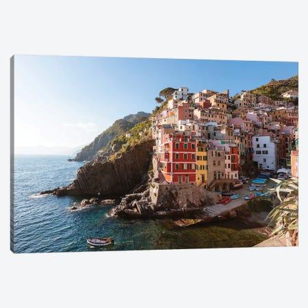 Riomaggiore, Cinque Terre, Italy I Canvas Print #TEO417} by Matteo Colombo Canvas Art
