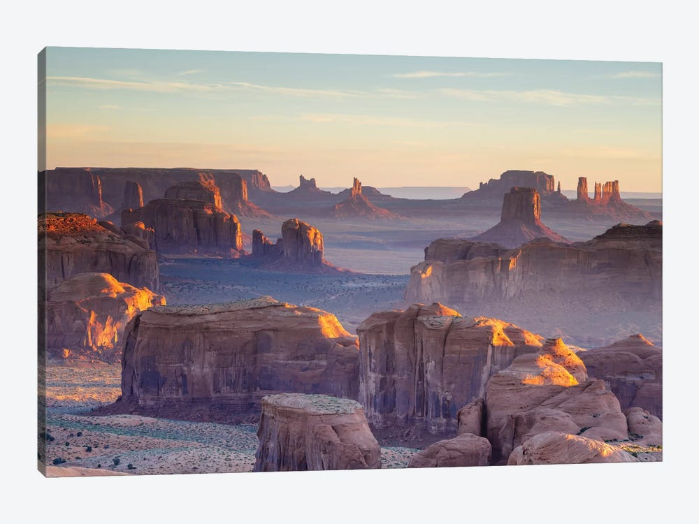 First Light, Monument Valley, Navajo Nation, Arizona, USA by Matteo Colombo 1-piece Canvas Print