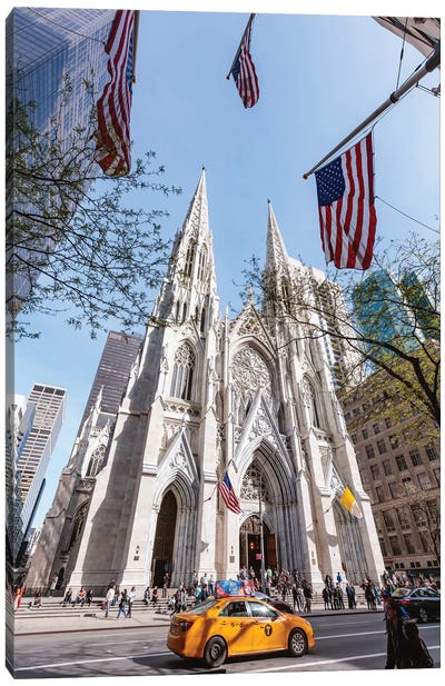 St. Patrick's Cathedral, New York City Canvas Art Print