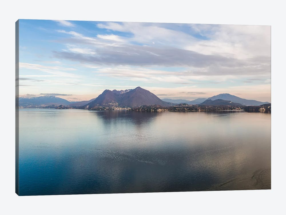 Sunset Over Lake Maggiore, Italy by Matteo Colombo 1-piece Art Print