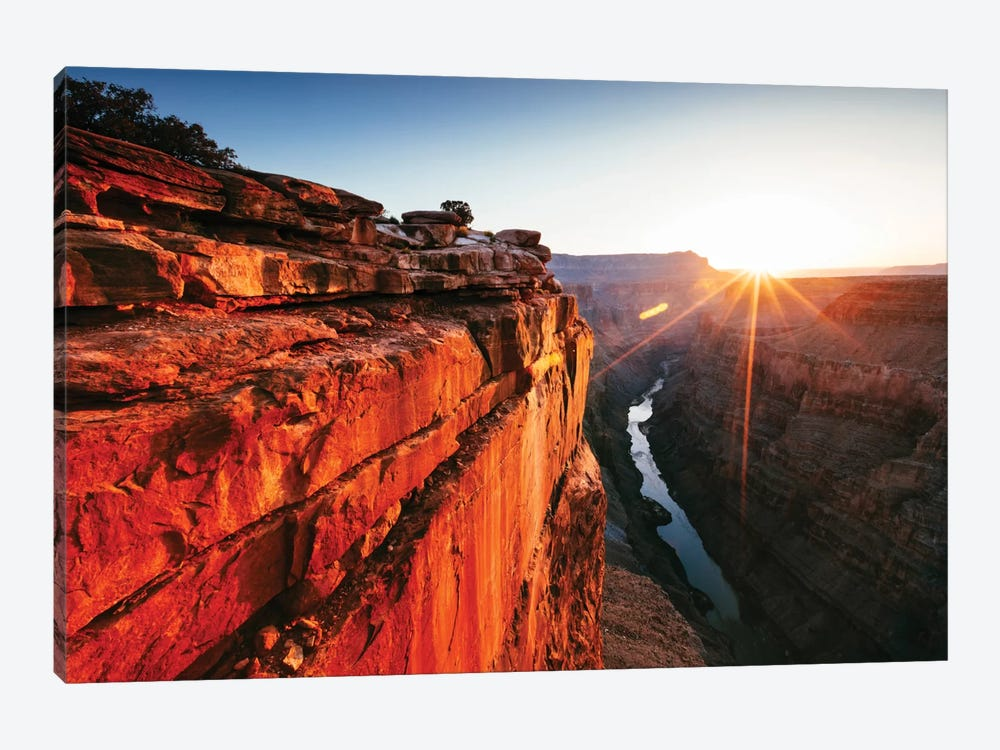 First Light, Toroweap Point, North Rim, Grand Canyon National Park, Arizona, USA by Matteo Colombo 1-piece Canvas Wall Art