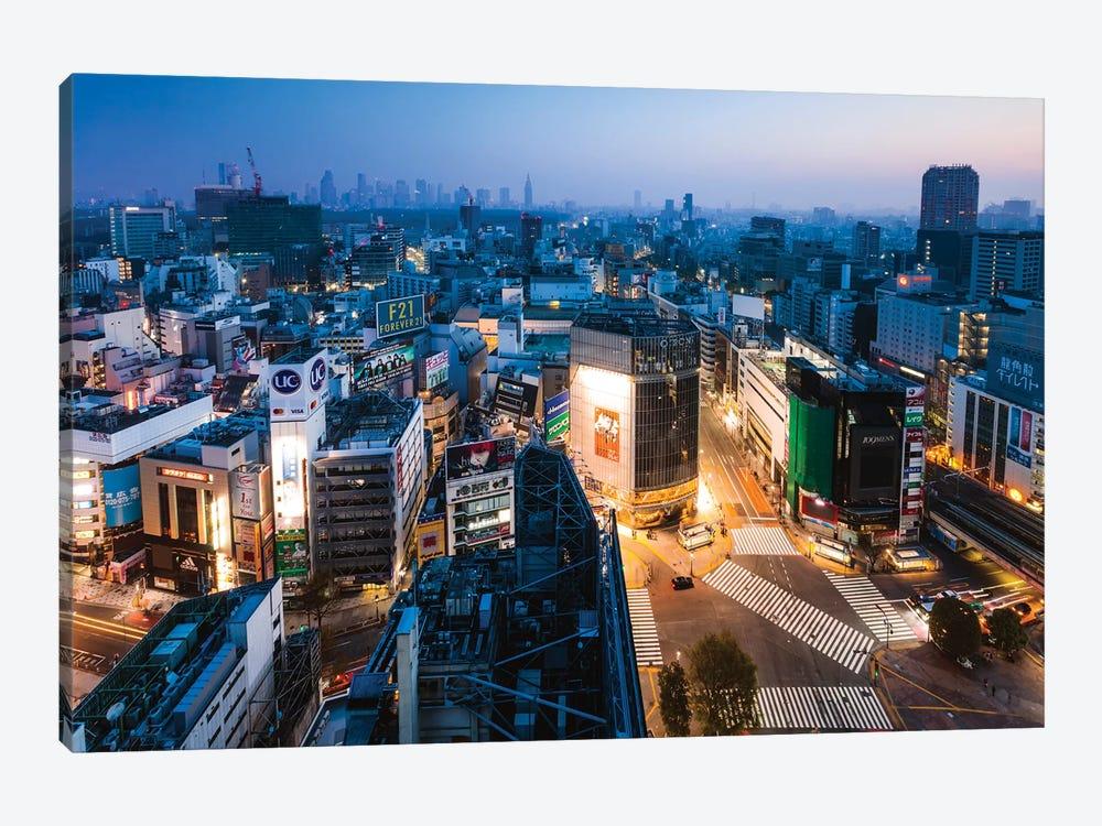 Tokyo City At Dusk, Tokyo, Japan II by Matteo Colombo 1-piece Canvas Art Print