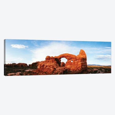 Turret Arch At Sunset, Utah Canvas Print #TEO449} by Matteo Colombo Canvas Wall Art