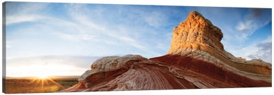 Ice Cream Knoll (Lollipop), White Pocket, Vermilion Cliffs National Monument, Arizona, USA Canvas Print #TEO44