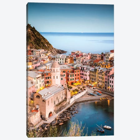 Vernazza, Cinque Terre, Italy II Canvas Print #TEO452} by Matteo Colombo Art Print