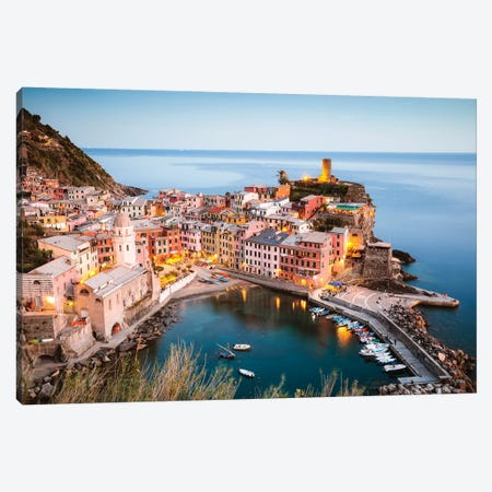 Vernazza, Cinque Terre, Italy III Canvas Print #TEO453} by Matteo Colombo Canvas Art Print