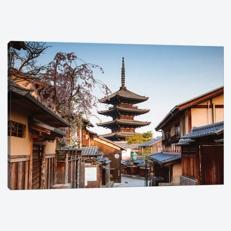 Yasaka Pagoda, Kyoto, Japan Canvas Print #TEO460} by Matteo Colombo Canvas Wall Art