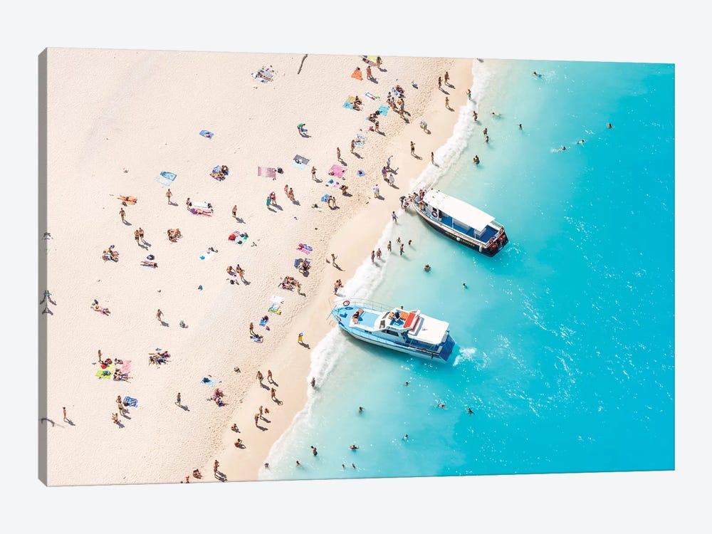 Beach Aerial, Greece II by Matteo Colombo 1-piece Canvas Art