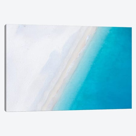 Beach And Sea II 3-Piece Canvas #TEO465} by Matteo Colombo Canvas Art Print