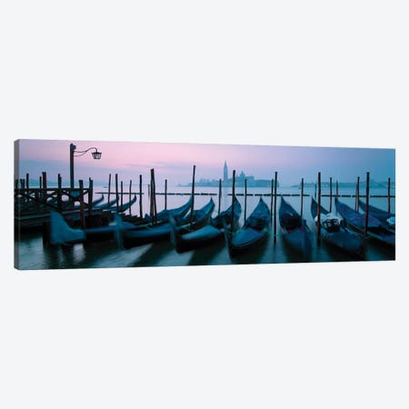 Blue Hour In Venice I Canvas Print #TEO469} by Matteo Colombo Canvas Wall Art