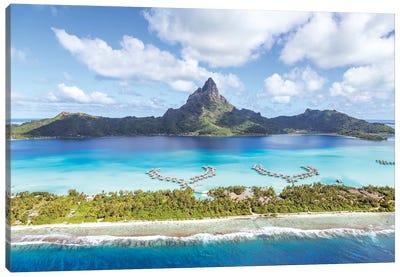 Bora Bora island I Canvas Art Print