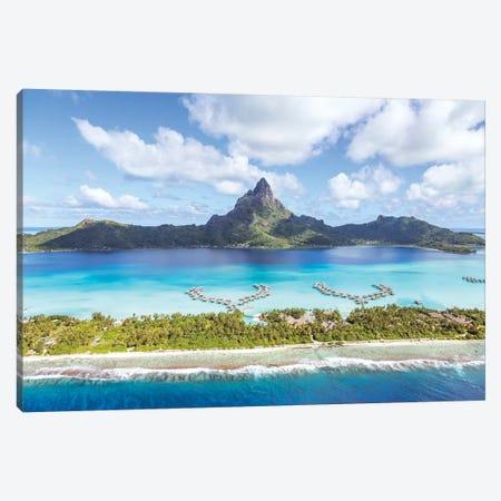 Bora Bora island I Canvas Print #TEO471} by Matteo Colombo Art Print