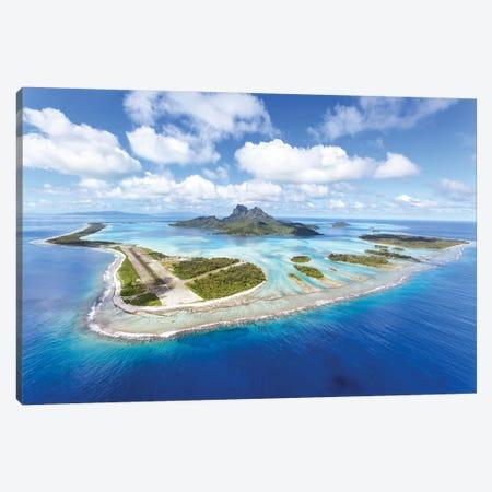 Bora Bora island II Canvas Print #TEO472} by Matteo Colombo Art Print