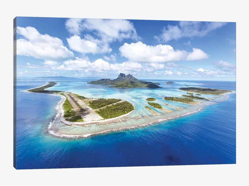Bora Bora island II by Matteo Colombo 1-piece Canvas Wall Art