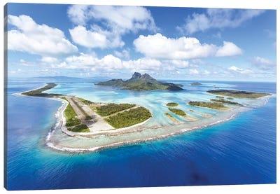 Bora Bora island II Canvas Art Print
