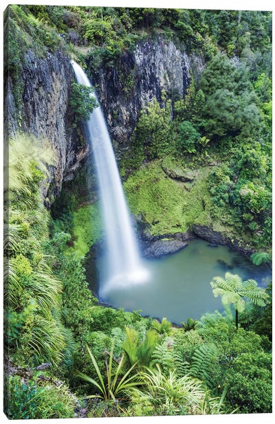 Brial Veil Falls, New Zealand Canvas Art Print