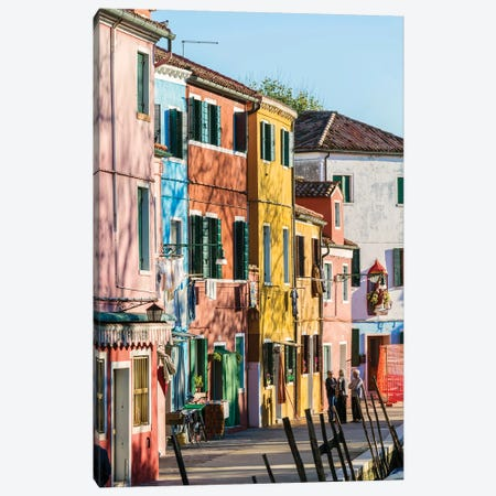 Burano, Venice Canvas Print #TEO475} by Matteo Colombo Canvas Wall Art