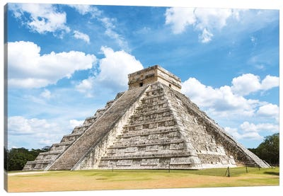 Chichen Itza, Mexico Canvas Art Print