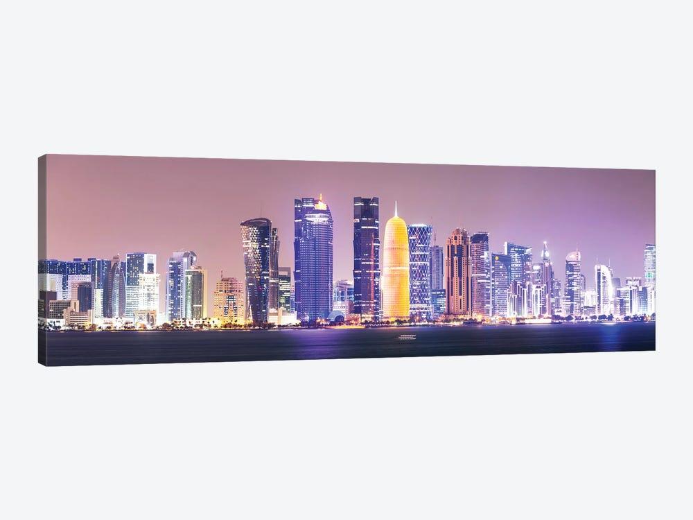 Doha At Night, Qatar by Matteo Colombo 1-piece Art Print