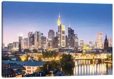 Frankfurt Skyline, Germany II Canvas Art Print