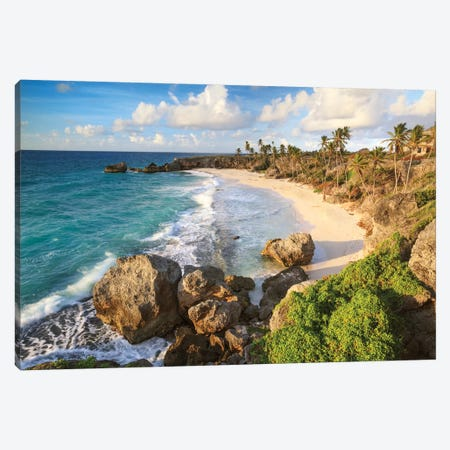 Harrismith Beach, Barbados Canvas Print #TEO486} by Matteo Colombo Canvas Print