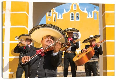 Mariachi In Mexico I Canvas Art Print