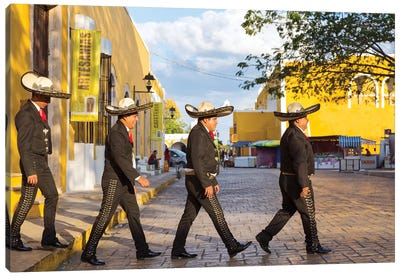 Mariachi In Mexico III Canvas Art Print
