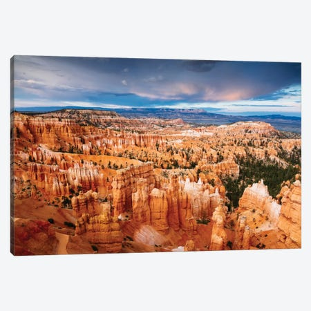 Last Light, Bryce Canyon National Park, Utah, USA Canvas Print #TEO48} by Matteo Colombo Canvas Wall Art