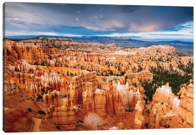 Last Light, Bryce Canyon National Park, Utah, USA Canvas Print #TEO48