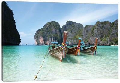 Maya Bay, Phi Phi, Thailand I Canvas Art Print
