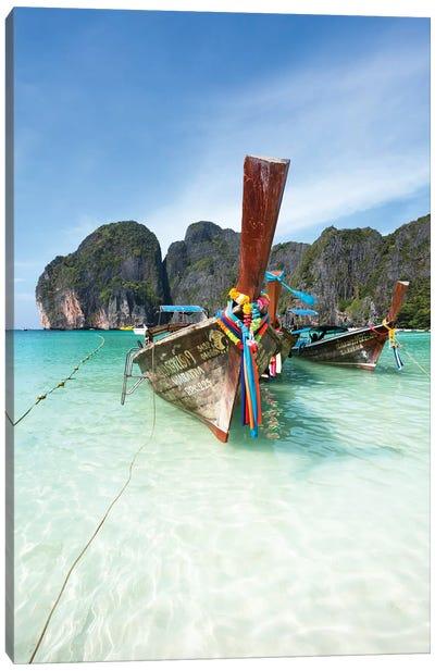 Maya Bay, Phi Phi, Thailand II Canvas Art Print
