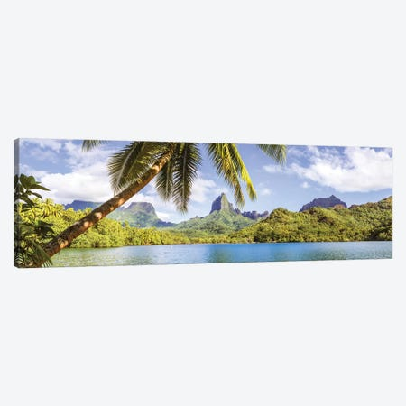 Moorea, French Polynesia Canvas Print #TEO492} by Matteo Colombo Canvas Art Print