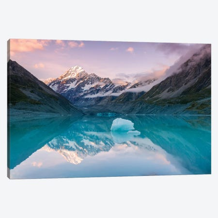 Mt. Cook Sunset, New Zealand Canvas Print #TEO494} by Matteo Colombo Canvas Art