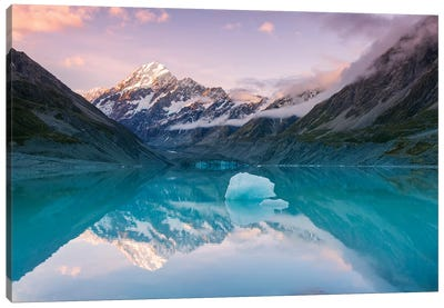 Mt. Cook Sunset, New Zealand Canvas Art Print
